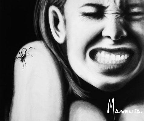 """""""Spider"""" - Acryl auf Leinen - 70x60cm - Doris Maria Weigl / Art"""