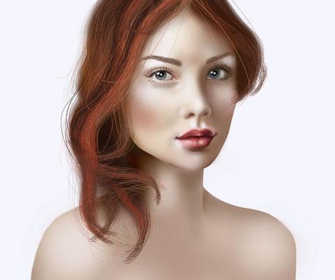 Illustrationen Doris Maria Weigl / Portrait / digitale Vektorgrafik