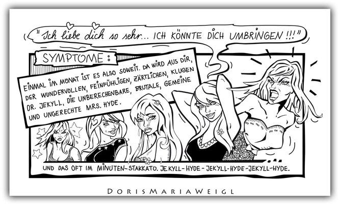 PMS - Vektorgrafik- Illustrationen Doris Maria Weigl / Comic