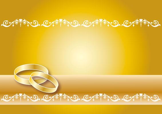Vektorgrafik  Hochzeit 3 - Illustrationen Doris Maria Weigl / Festtage / Hochzeit