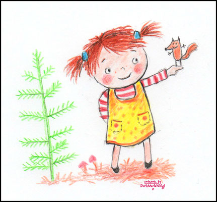 Susi - Farbstift - Illustrationen Doris Maria Weigl / Kinderbuch