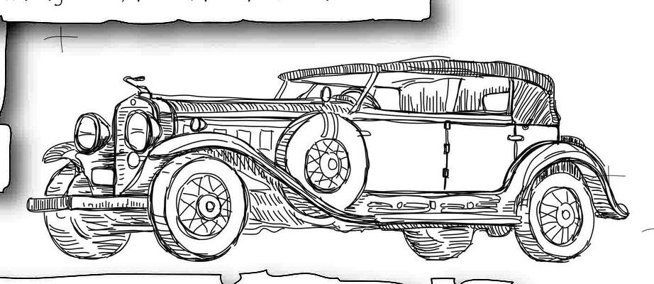 Oldtimer 2 - Vektorgrafik - Illustrationen Doris Maria Weigl / Technik