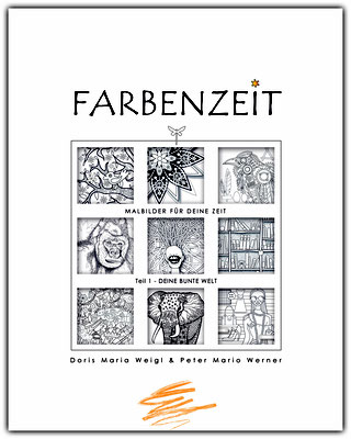 Illustrationen Doris Maria Weigl / Malbuch Farbenzeit