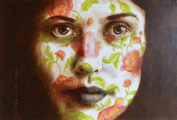 """Acryl auf Leinen - Serie """"Flowers"""" - GMG - Doris Maria Weigl - Illustrationen"""