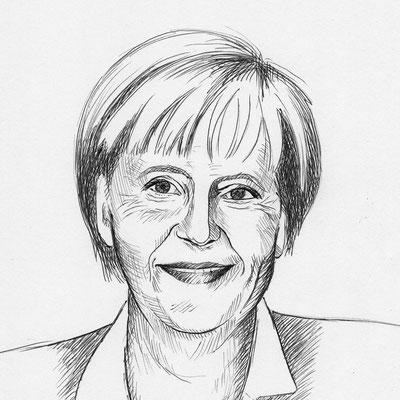 Angelika Merke - Grafit - Illustrationen Doris Maria Weigl / Portrait