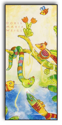 im Dschungel - Aquarell - Illustrationen Doris Maria Weigl / Kinderbuch