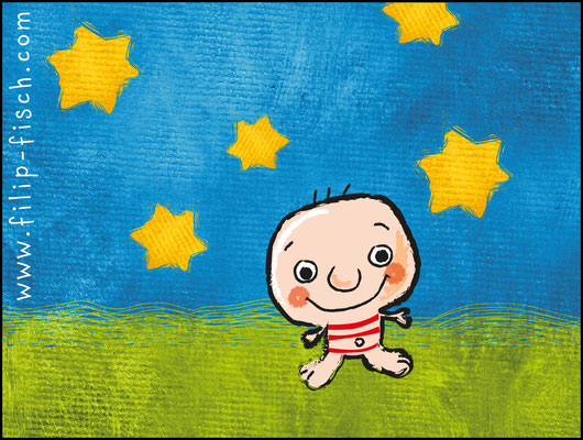 Mini-Filip - Vektorgrafik - Illustrationen Doris Maria Weigl / Kinderbuch
