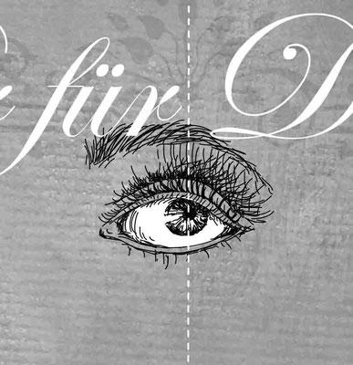 Auge - Vektorgrafik - Illustrationen Doris Maria Weigl / Symbole
