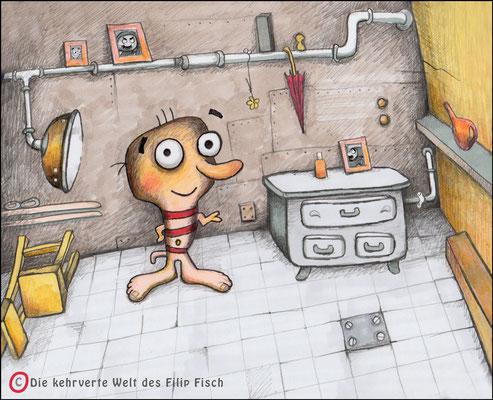 Filip Fisch - Vektorgrafik- Illustrationen Doris Maria Weigl / Comic