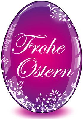 Frohe Ostern Osterei - Vektorgrafik - Illustrationen Doris Maria Weigl / Festtage