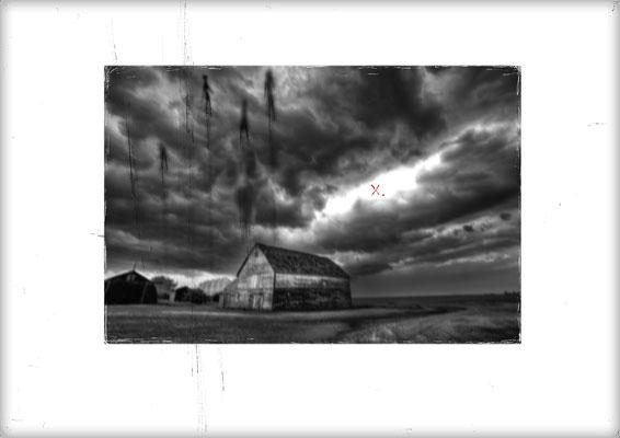 Seelenreise - Foto mit Vektorgrafik - Illustrationen Doris Maria Weigl / Mixed Media