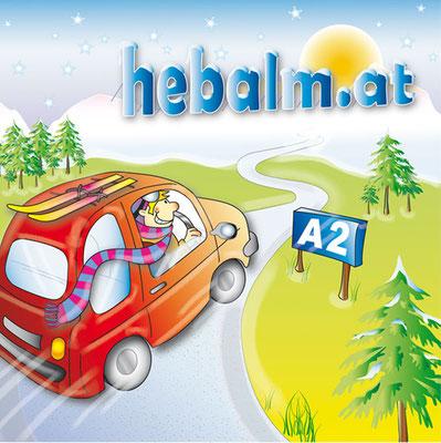 Vektorgrafik Hebalm - Illustrationen Doris Maria Weigl / Comic