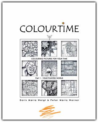 Illustrationen Doris Maria Weigl / Malbuch Farbenzeit