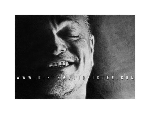Peter Mario Werner mit Graphit - Illustrationen Doris Maria Weigl / Portrait
