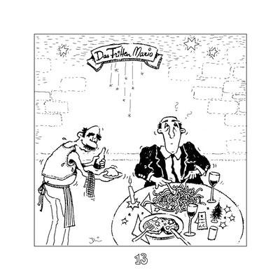 Im Froi - Tusche - Illustrationen Doris Maria Weigl / Comic