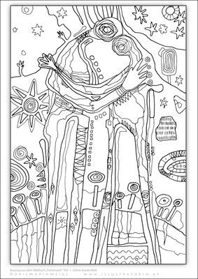Bunt - Malbild - Vektorgrafik - Doris Maria Weigl