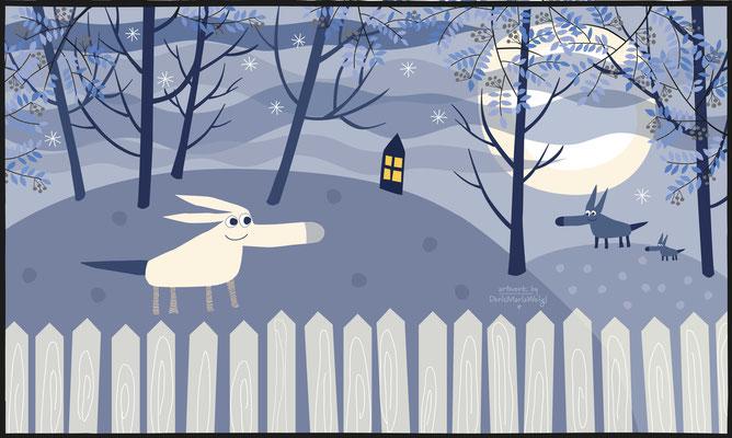 Wumpi - Vektorgrafik - Illustrationen Doris Maria Weigl / Kinderbuch