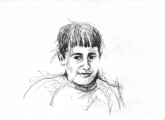 Kind ai - Kohle - Illustrationen Doris Maria Weigl / Portrait