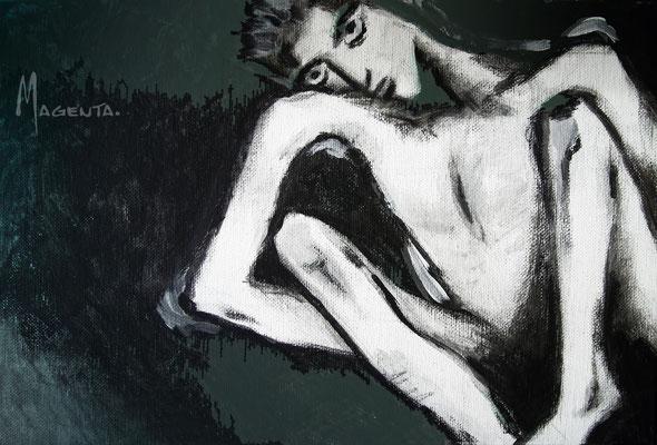 Acryl auf Leinen - Doris Maria Weigl
