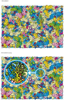 Suchbild - Vektorgrafik - Illustrationen Doris Maria Weigl / Kinderbuch