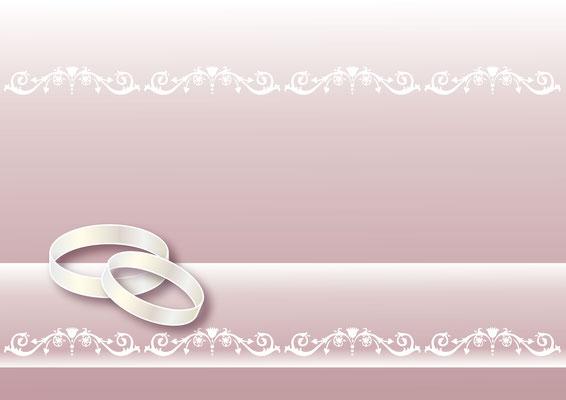 Vektorgrafik  Hochzeit 1 - Illustrationen Doris Maria Weigl / Festtage / Hochzeit