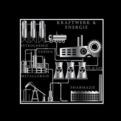 Kraftwerk - Vektorgrafik - Illustrationen Doris Maria Weigl / Technik