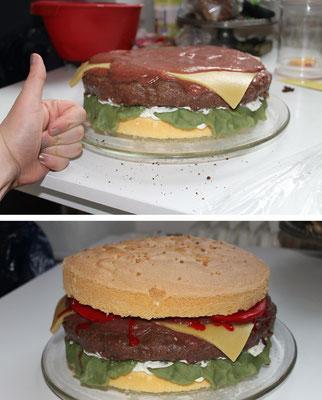 Burger Torte (sweet Cake)