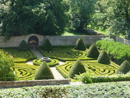 Château de Montal garden