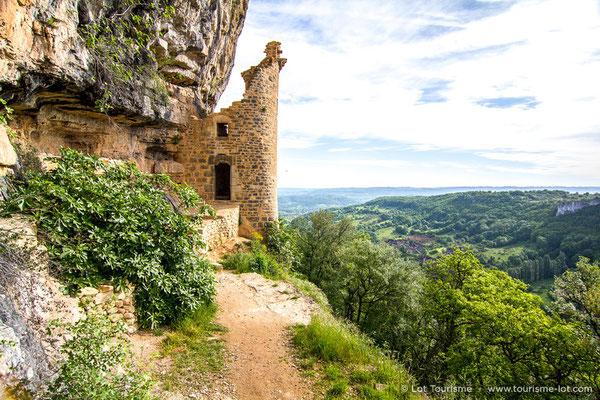 Château des Anglais à Autoire