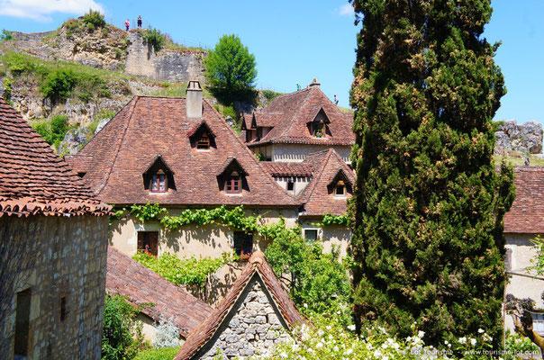 Toits du village de Saint-Cirq Lapopie