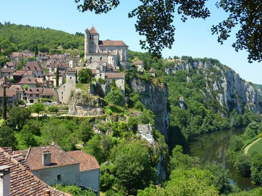Village de Saint-Cirq Lapopie (E. Ruffat - ADT Lot)