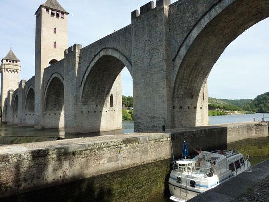 Ecluse du Pont Valentré de Cahors