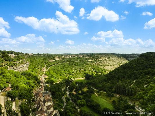 Vue sur les Causses du Quercy
