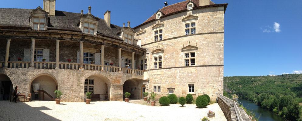 Château de Cénevières (A.Leconte - ADT Lot)