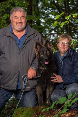 Eero mit seiner Familie