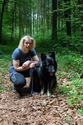 Isabelle mit ihrem Oras