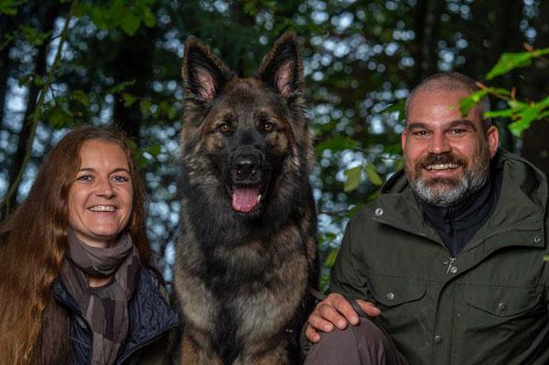 Ciaran mit seiner Familie