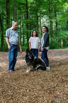 Bonnie und ihre Familie