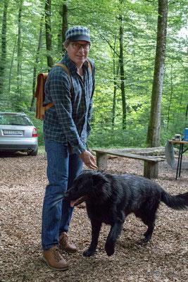 Stefan mit Freya