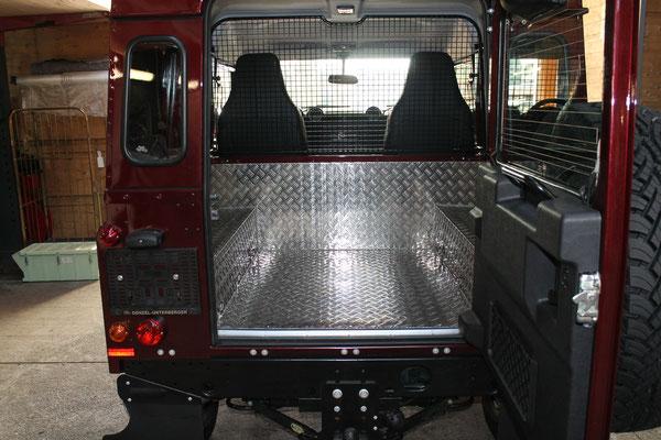 Ladeflächenauskleidung Land Rover Defender