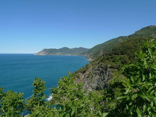 Blick Richtung Monterosso