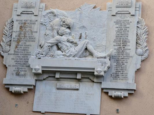San Piero In Campo, Denkmal an die Gefallenen vom 1. Weltkrieg