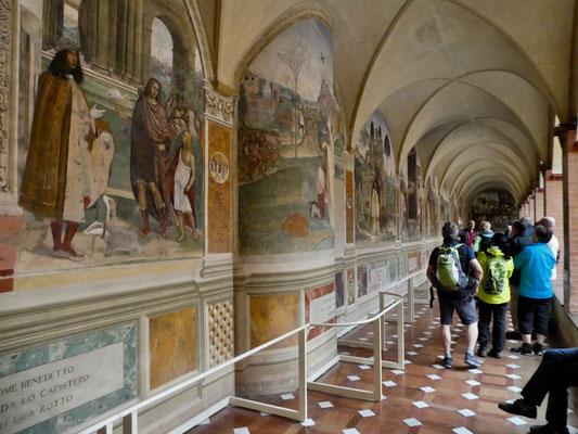 Fresken im Kreuzgang