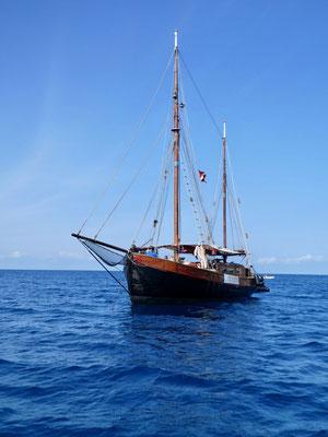 Schönes Segelschiff
