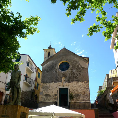 Die Dorfkapelle von Corniglia