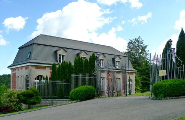 Domaine de Guilé, 1928 erbaut von Leon und Marguerite Burrus