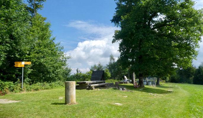 Picknick-Platz beim Denkmal