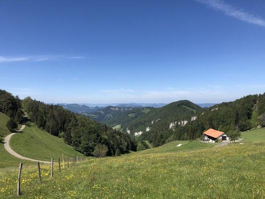 Blick über das Schwarzbubenland