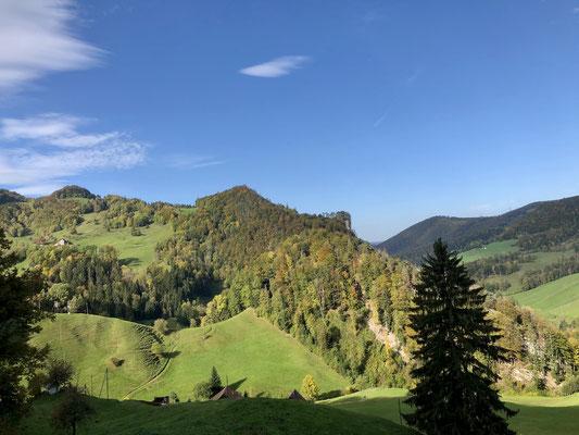 Blick Richtung Westen Bilstein