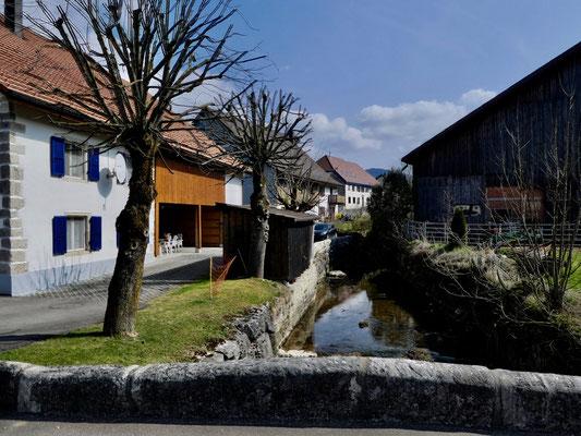 Dorfbach (La Schulte) in Courchapoix